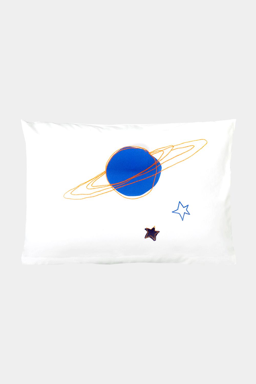 Kissenbezug 60 x 40 cm, Playful Planet, Kinderbettwäsche