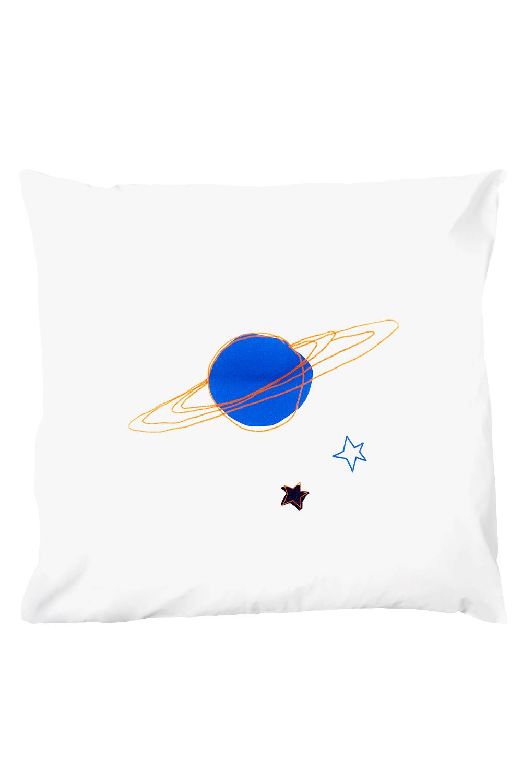 Kissenbezug Playful Planet 80 x 80 cm - 100 % Baumwolle