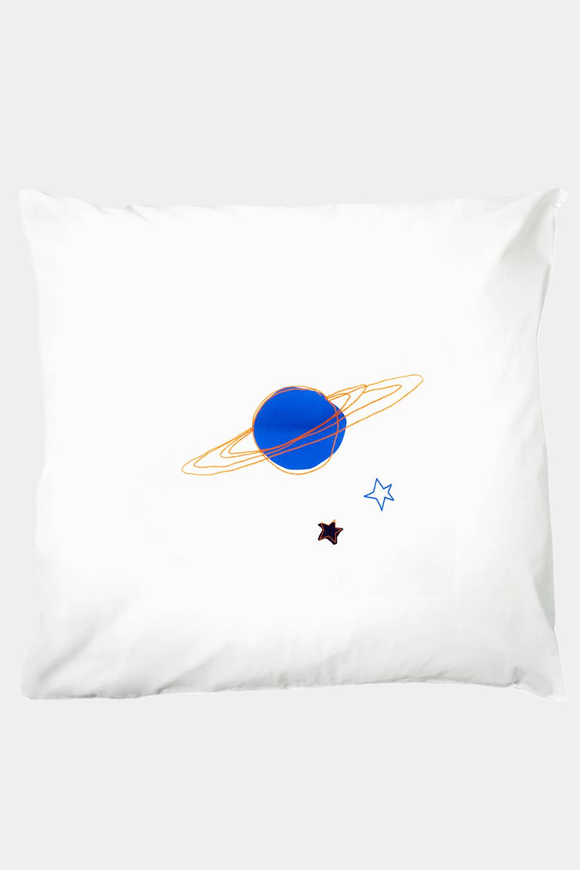 Kissenbezug 80 x 80 cm, Playful Planet, Kinderbettwäsche