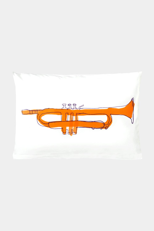 Kissenbezug Tiny Trumpet 40 x 60 cm - Kinderbettwäsche