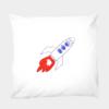 Kissenbezug Ready Rocket 80 x 80 cm - 100 % Baumwolle
